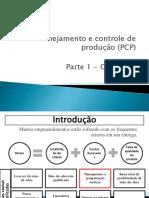 Aula 13 - PCP - Parte 1