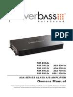 manual Power Bass ASA600