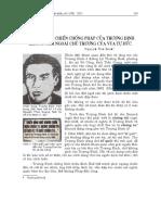Cuộc Kháng Chiến Chống Pháp Của Trương Định Không Nằm Ngoài Chủ Trương Của Vua Tự Đức - Nguyễn Đắc Xuân