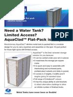 Media-Brochure-AquaClad Modular Steel Water Tank Brochure