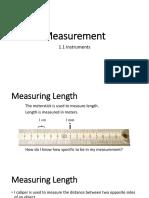 1.1 Measurement