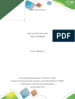 Informe Practica Caracterización de fenómenos Meteorológicos UNAD