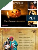 Guia Maquillaje Halloween 2015