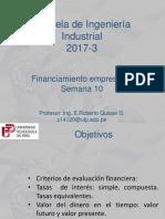 Financiamiento Empresarial-semana 10