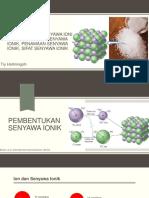 9. Pembentukan Senyawa Ionik