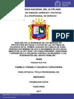 Calisaya Yapuchura Pamela Yhosely