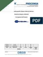 Cronograma infraestructura portuaria