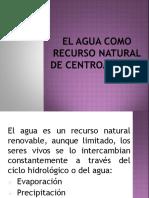 El Agua Como Recurso Natural de Centroamérica