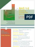 BAS 1-2 Bateria de Socializacion PARA PR