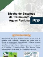 Diseño de Sistemas de Tratamiento de Aguas Residuale reglamento