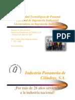 Industria PanamenÞa de Cilindros Presentacioìn - EspanÞol 2017 (1)