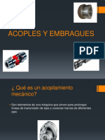 Acoples y Embragues