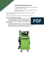 Analizador de Emisiones Bosch Bea 150 Diplomado