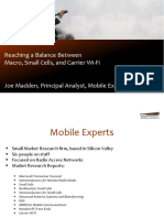 Overall Forecast Highlights Joe Madden Mobile Experts LLC