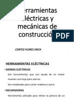 Cortez Flores - Herramientas Eléctricas y Mecánicas de Construcción