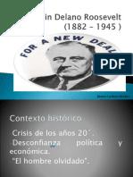 Unidad 7 New Deal de Franklin D Roosevelt - Mateo Cardona