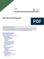 Radio+Spectrum+Management