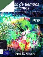 Estudios de Tiempos y Movimientos, 2da Edición - Fred E. Meyers