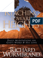 Reaching Toward the Heights_ Da - Richard Wurmbrand