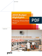 PwC_2018 Budget Highlights