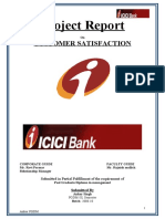 24016627 My Project Report on Icici Bank Final