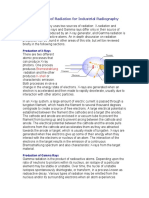 Production of Radiation for Industrial Radiography