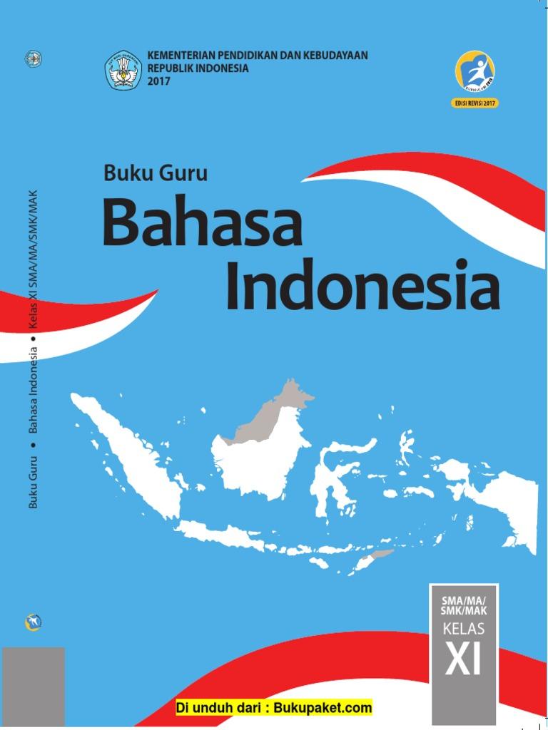Buku Guru Kelas 11 Bahasa Indonesia