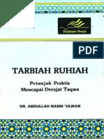 025. Tarbiah Ruhiah (Petunjuk Praktis Mencapai Derajat Taqwa) - DR Abdullah Nasih 'Ulwan