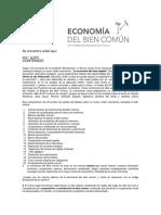 La Economía Del Bien Común 2