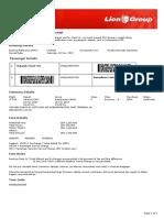 Lion Air ETicket (NOJVOA) - Mubarok