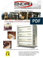 Electric Deck Oven Catalog