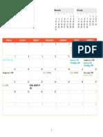 Show Calendar Jan.