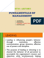 EMGT101 LEC5 Leadership