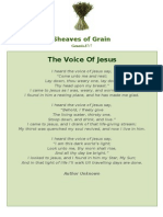 The Voice of Jesus - Sheaves of Grain - 47