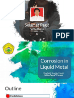 KOROSI - Corrosion in Liquid Metal 1