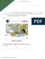 How To Build A Natural Hair Regimen.pdf