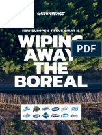 Essity Wiping Away the Boreal