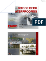 Bridge Deck Waterproofing Ultraseal