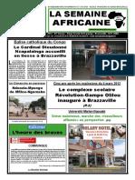 la semaine africaine n°3732