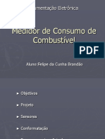 Medidor de Consumo de Combustível
