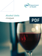 Alcohol Units a Brief Guide