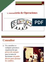 Consultoria en Operaciones
