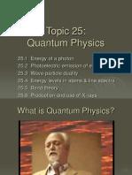 25 - Quantam Physics