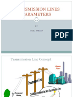Transmission Line Parameteres