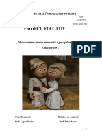 Proiect Educational Povesti