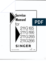 Singer 211g Manual Industral