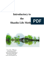 Shaolin Life Method Introduction)