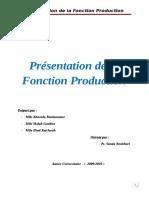 La Fonction Pro