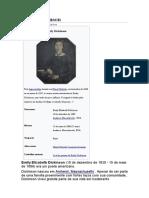 Biografia Emily Dickinson