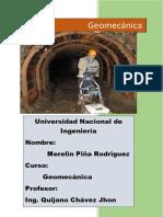 Geomecanica - Geotecnia y Geomecanica